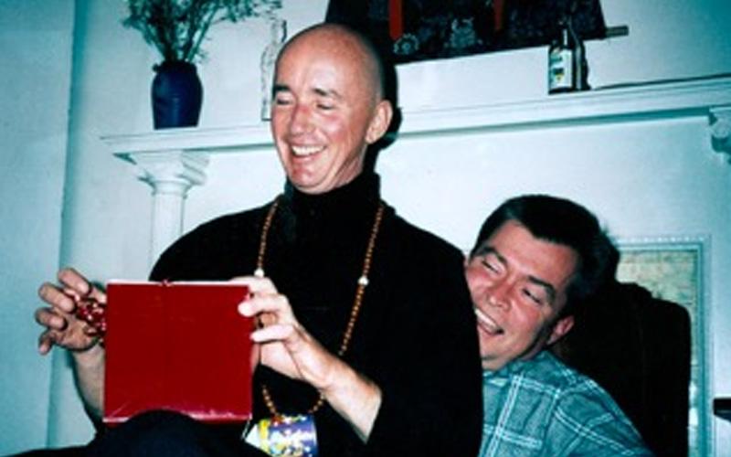 Issan Dorsey and Ken Ireland